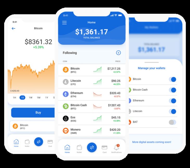 Kryptonio Wallet App